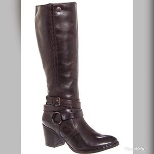 Bussola 38 woodwille espresso leather boots